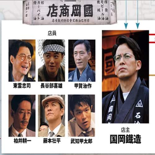 映画「海賊と呼ばれた男」キャスト情報