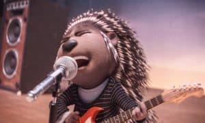 映画「sing/シング」 ヤマアラシのアッシュ