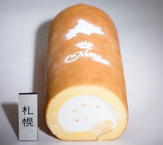 札幌限定ご当地ロール「ミルクジャムロール」