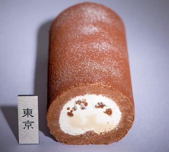 東京限定ご当地ロール「クランチショコラロール」