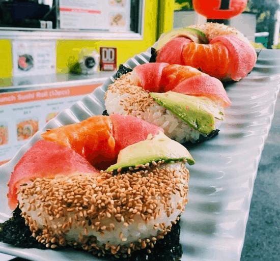 寿司ドーナッツ