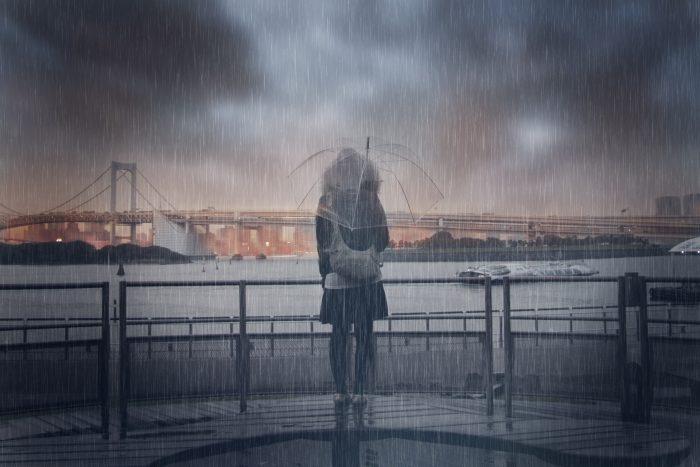「雨だからデートを中止にしよう」と言われたら