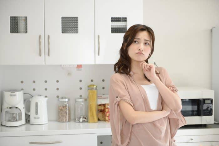 料理しない女性の4つの特徴